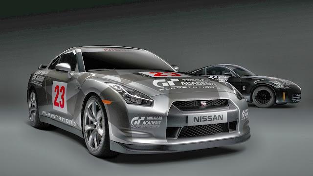 Autos Deportivos Nissan Skyline R35 GT-R Negro