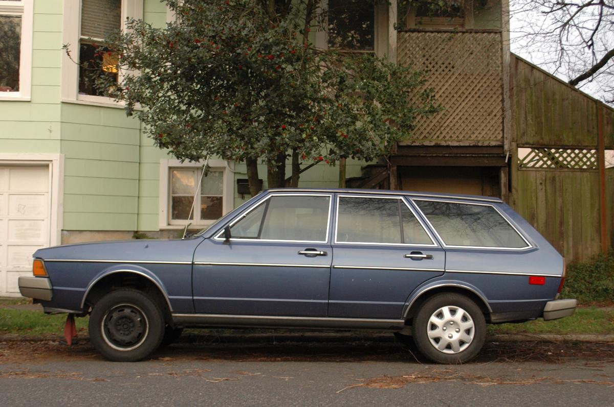 old parked cars 1980 volkswagen dasher diesel. Black Bedroom Furniture Sets. Home Design Ideas