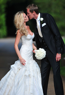 Abbey Clancy & Peter Crouch Married Pics