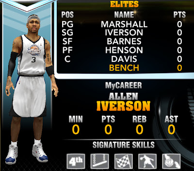 NBA 2K13 Allen Iverson MyCareer My Player