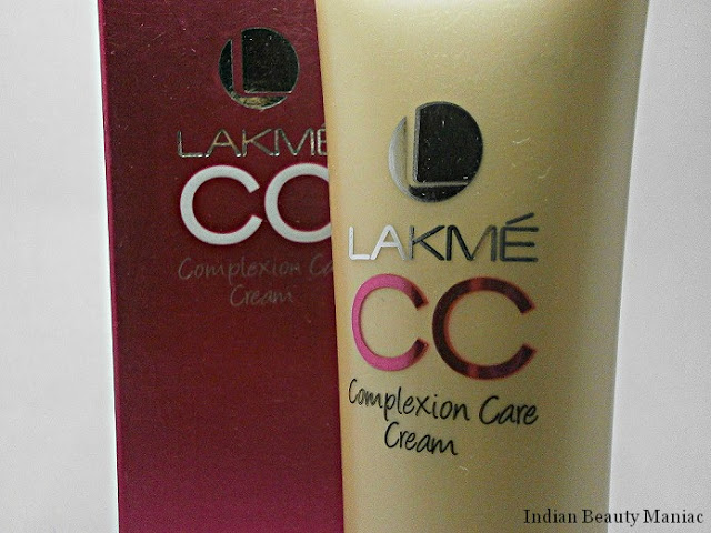 Lakme Complexion Care Cream All in 1 Instant Skin Stylist with SPF 20 Review and swatch