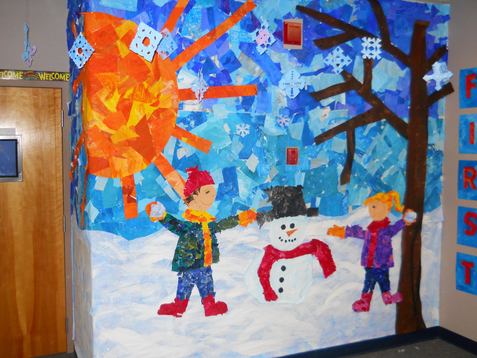 mrs t 39 s first grade class the four seasons with eric carle ForEric Carle Mural