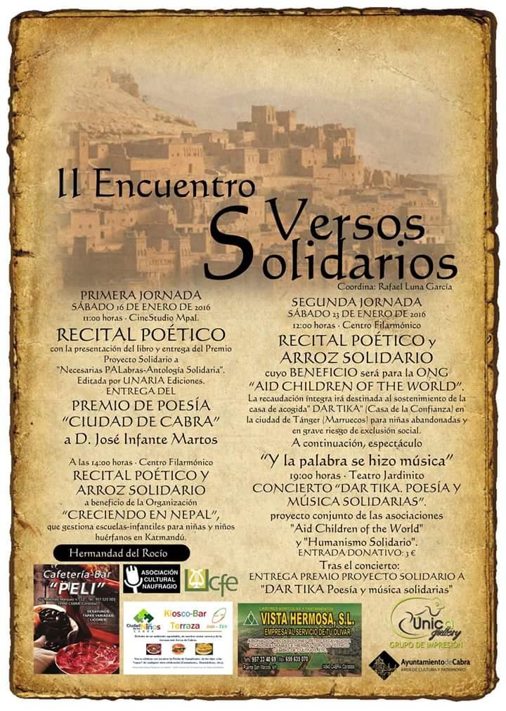 II Encuentro Versos Solidarios