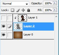 Image Masking with pencil - Layers