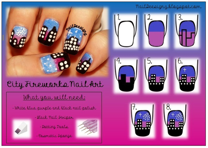 http://naildeesignz.blogspot.co.uk/2013/11/city-fireworks-nail-art.html