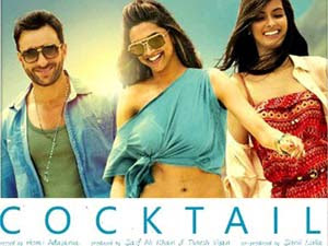 Cocktail (2012 - movie_langauge) - Saif Ali Khan, Deepika Padukone Randeep Hooda, Diana Penty, Boman Irani, Dimple Kapadia, Ernest Vernon, Matt Williams, Martyn Mayger