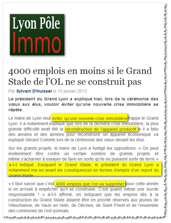 - Gérard Collomb et la multiplication des emplois sur OL Land... dans - Grands stades et autres arènes 2013-01-15_081401