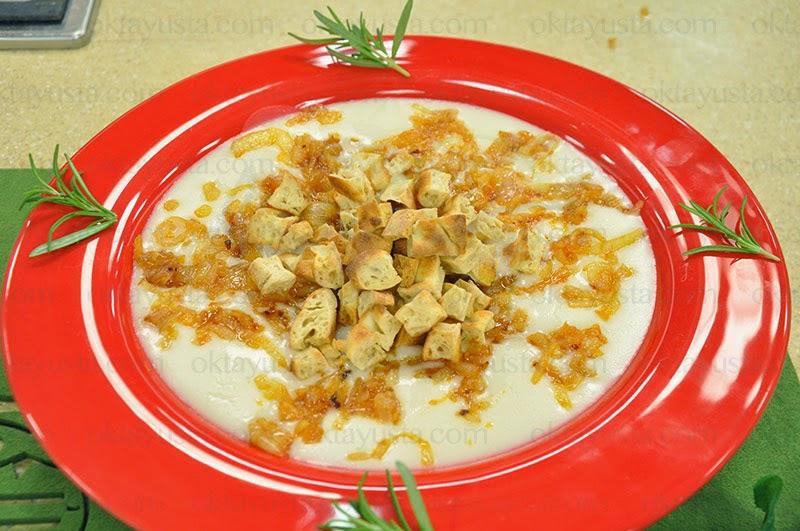 Sütlü Soğan Çorbası Tarifi Kolay Yapımı