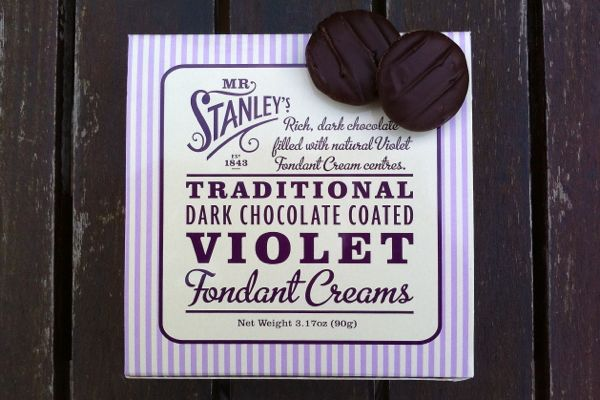 Review: Mr Stanley's Violet Creams (vegan)