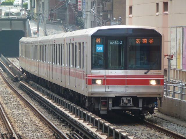 東京メトロ丸ノ内線 茗荷谷行き2 02系LED(平日7本運行)