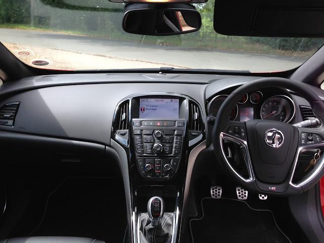 2013 Astra VXR interior