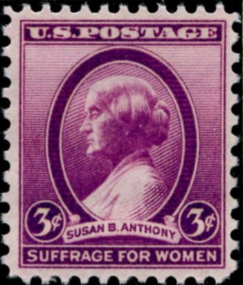 Scott 784 3 Cent Susan B Anthony Stamp