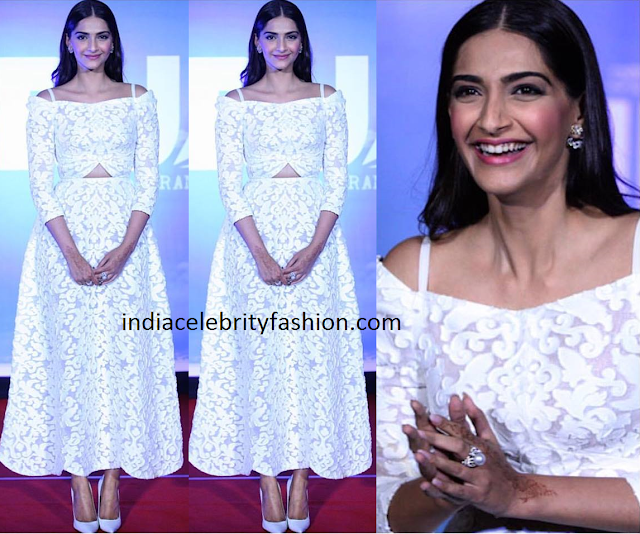 Sonam Kapoor in Ulyana Sergeenko Dress