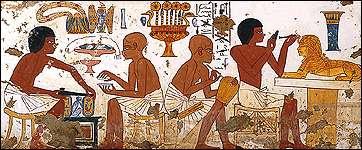 mesopotamia vs egyptian views