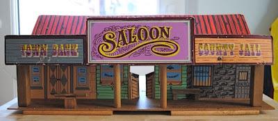 Vintage Western saloon toy
