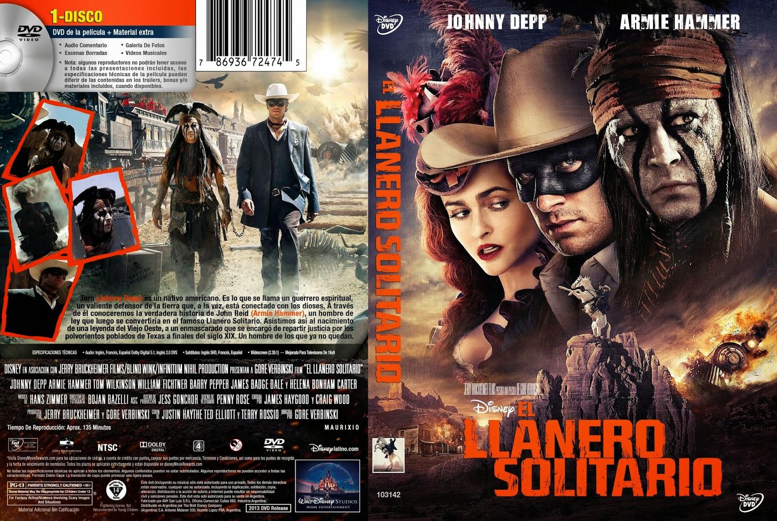 El LLanero Solitario DVD