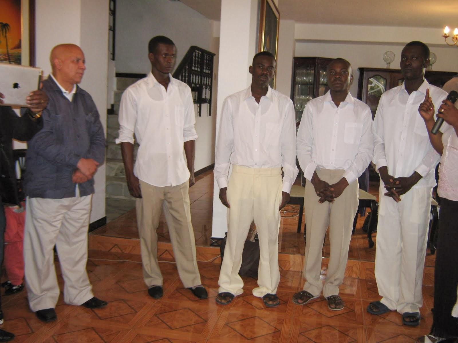 BAUTISMOS DE IGLESIA CRISTIANA HAITIANA DE QUITO