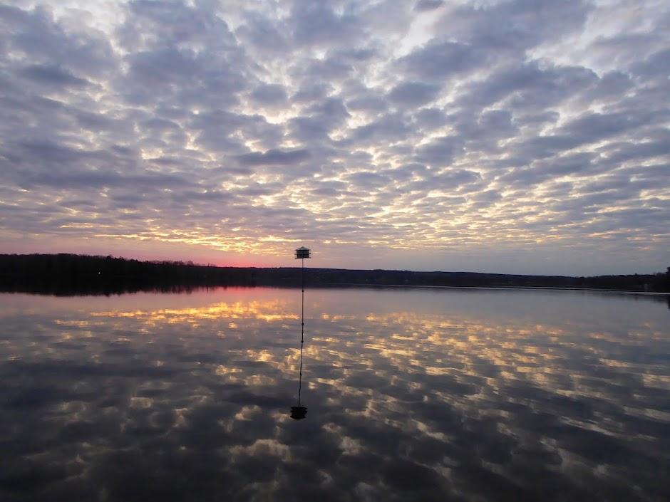 EARLY RISING ON CHAUTAUQUA LAKE