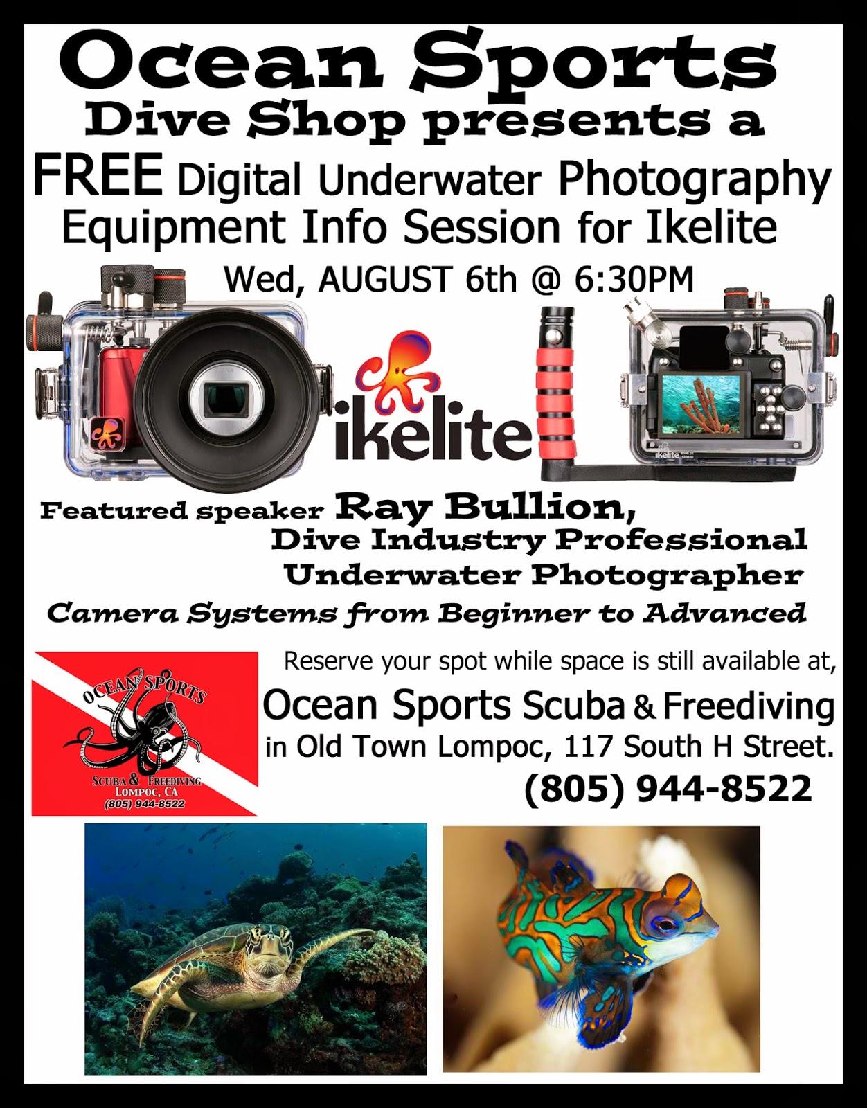 Ocean sports scuba freediving in lompoc ca full service - Dive system shop ...