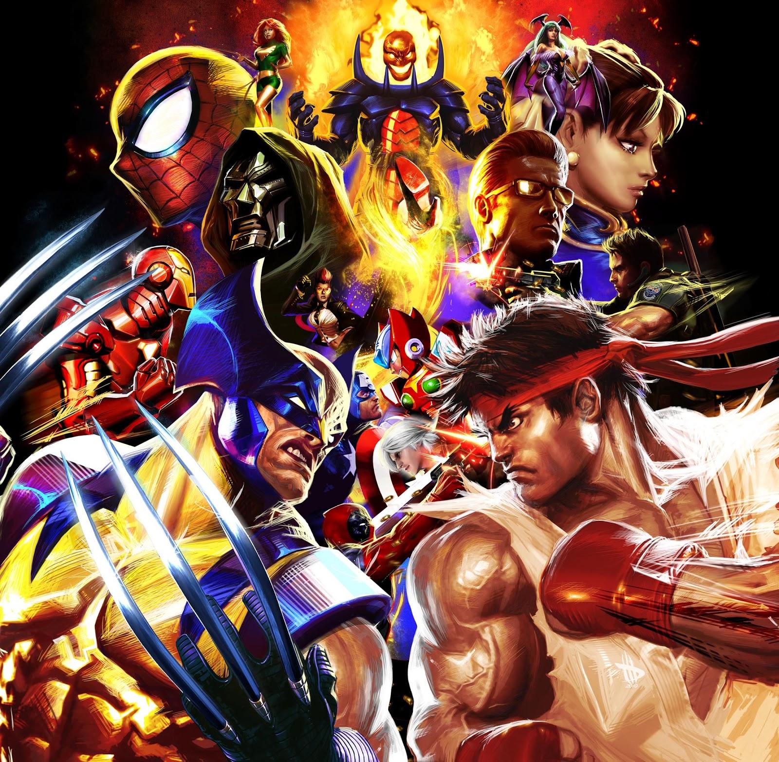 VgM Musicks Marvel VS Capcom Clash Of Super Heroes