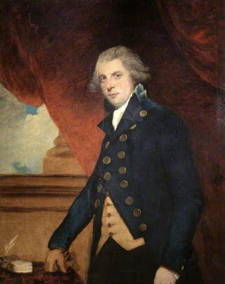 Portrait of RIchard Brinsley Sheridan by Sir Joshua Reynolds