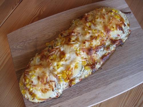 Pizza-Zunge \