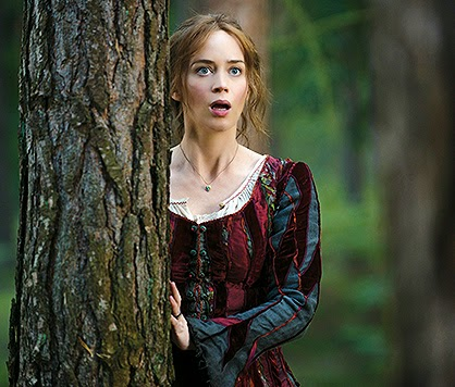 Into the Woods Emily Blunt as The Baker s Wife wallpaper hd