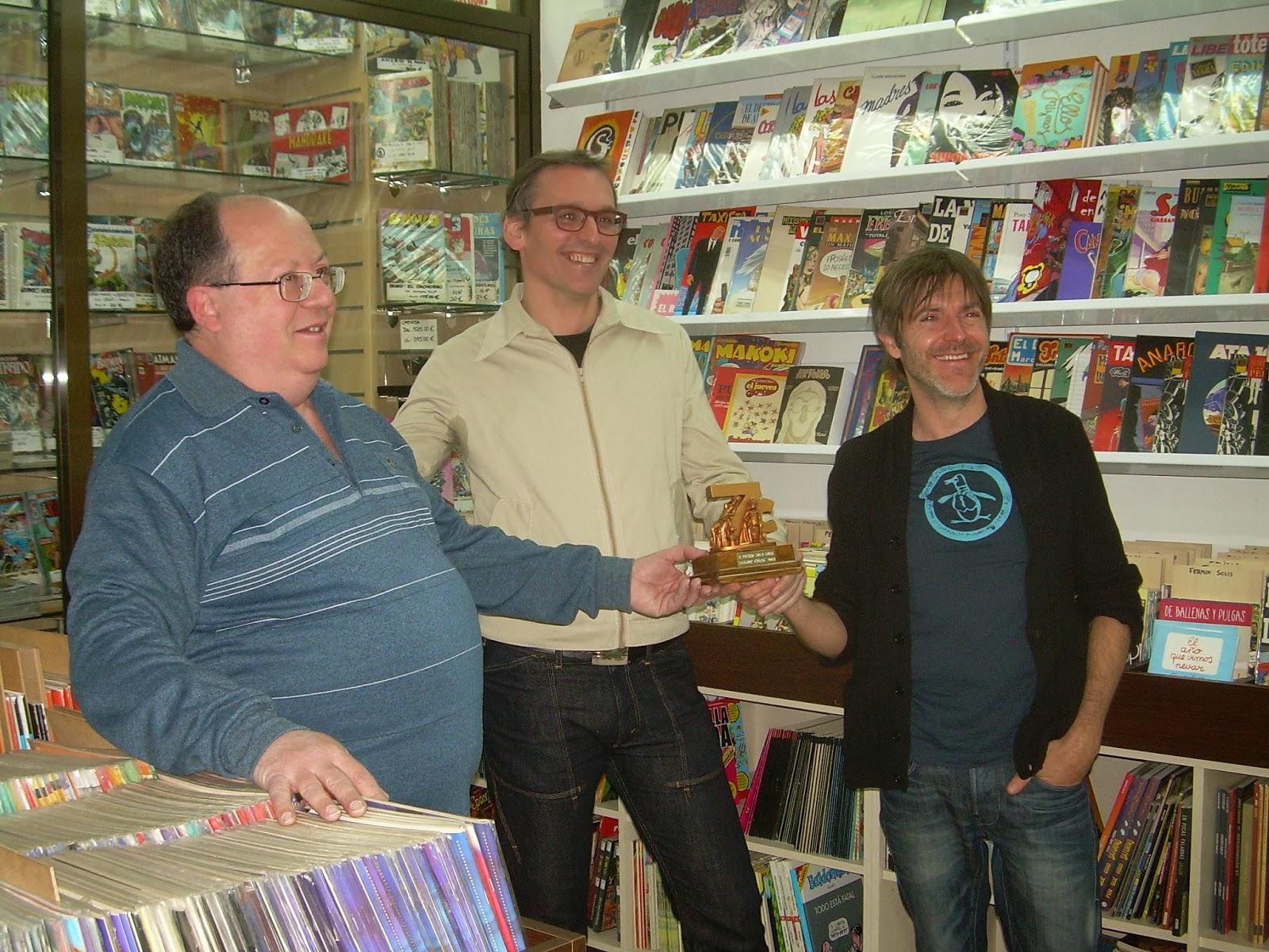 Gotham News: Paco Roca recibió el II Premio Zona Comic