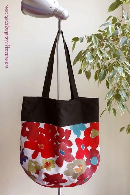 Witamy wiosnę! Jedna torba – dwie wersje kolorystyczne + tutek z kieszonką na telefon