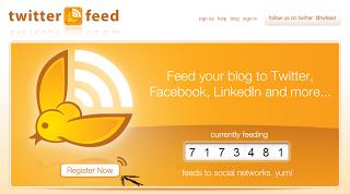 Cara Mendaftarkan Blog Ke Twitterfeed