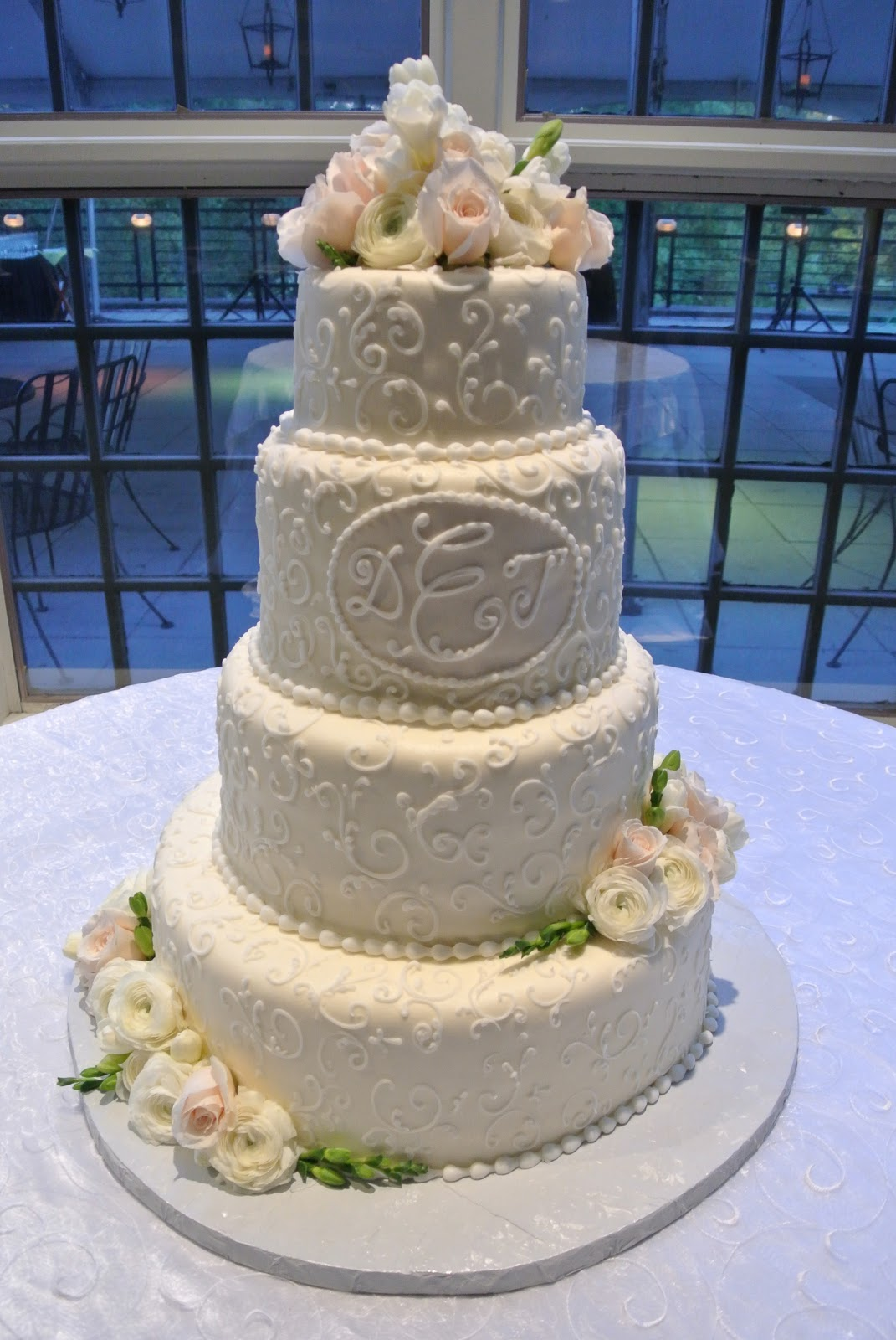 Cake Decor And More 1220 : Blissful on the Bayou: DEDE S WEDDING