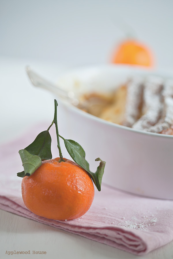 Brioche Auflauf süß Orangen marmelade