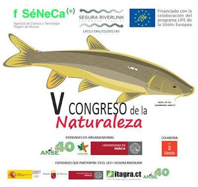 V Congreso de la naturaleza de la Región de Murcia 2015.