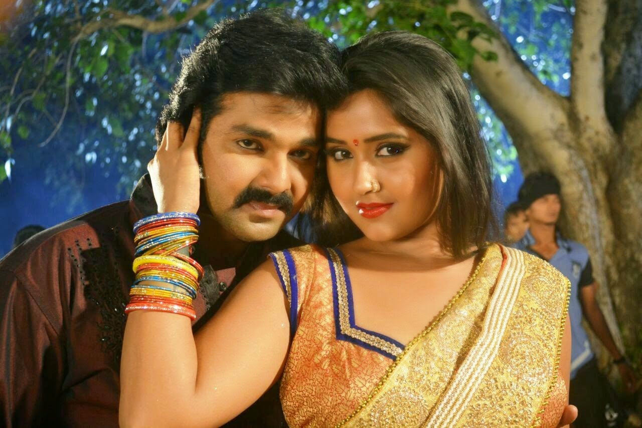 Image result for pawan singh with kajal raghwani