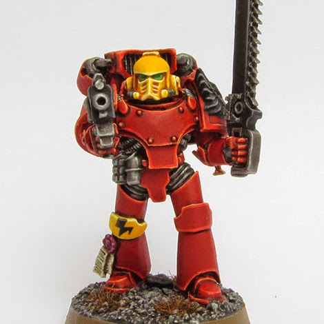 Wargames, Warhammer & Miniatures News: Bell of Lost Souls: 40k Tutorial: Painting Blood Angels