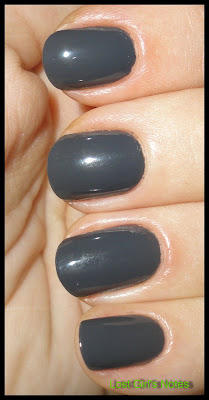 china glaze concrete catwalk metro collection swatch