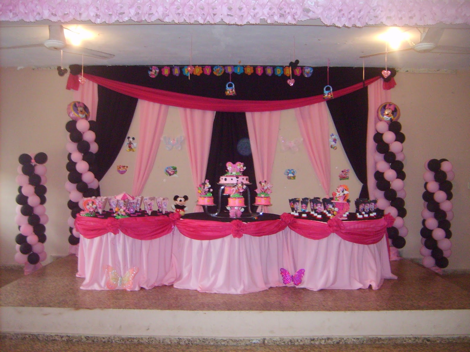 Decoracion Minnie Fucsia ~ MuyAmeno com Fiestas Infantiles Decoradas con Minnie Mouse, parte 2