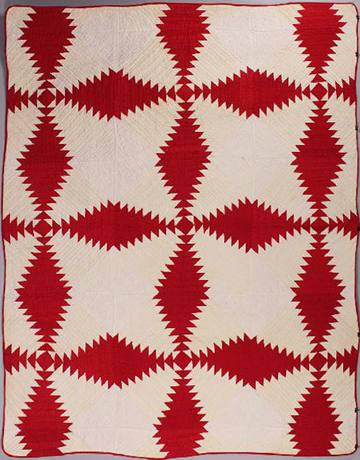 Delectable Free Mountain Pattern Quilt