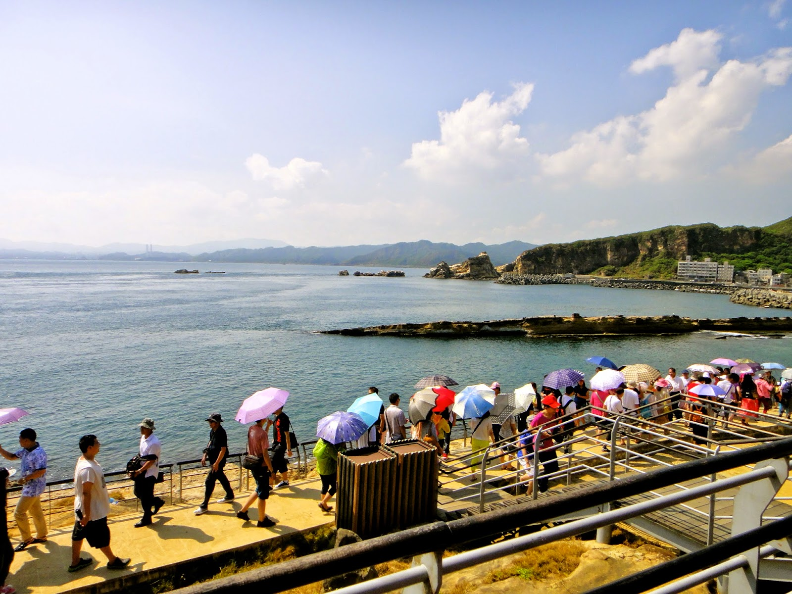 Yehliu Coastline View in Taiwan