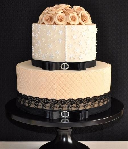 Adored Vintage 10 Vintage Inspired Wedding Cakes: Title: Wedding Cakes