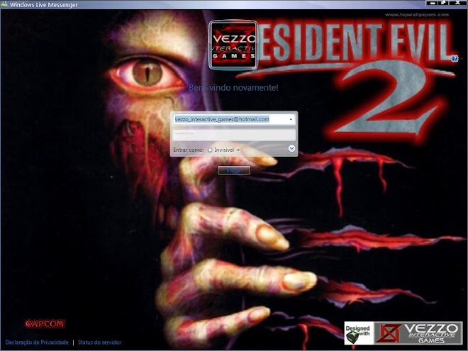 Download Skin-Msn 2009 - Resident Evil 2