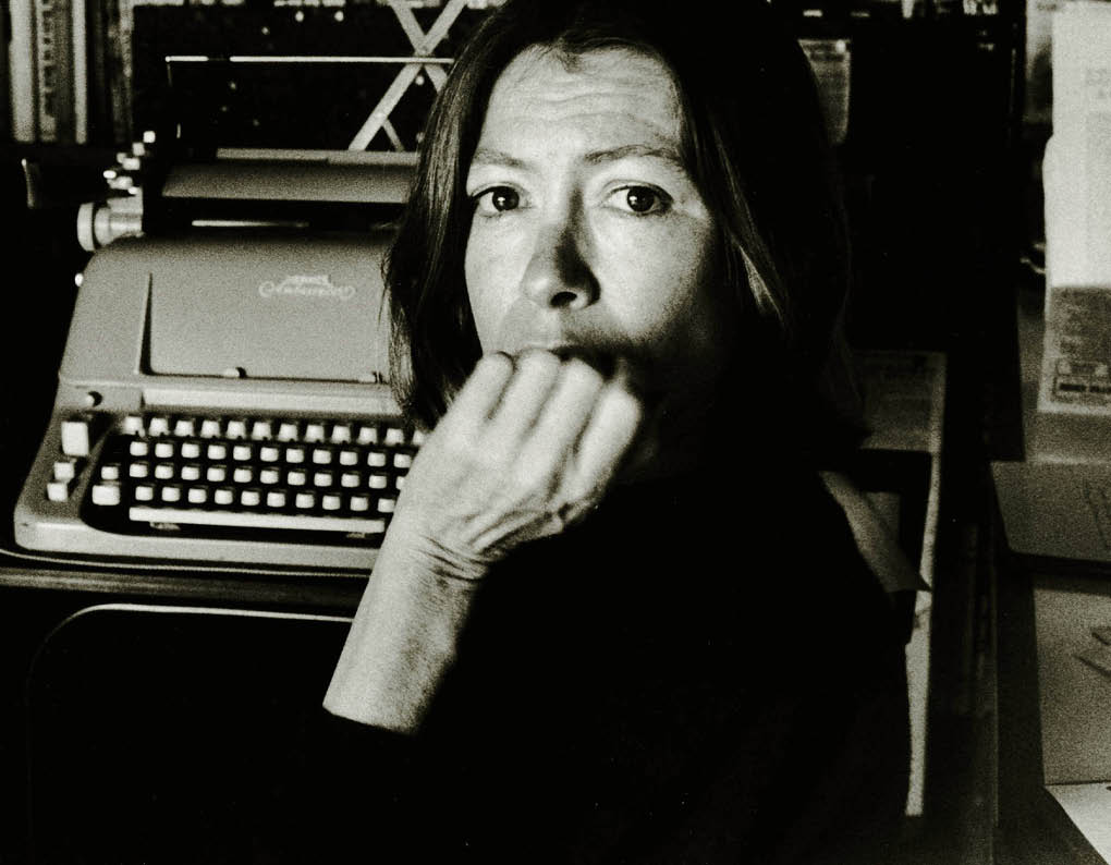 the implacable i joan didion and those who try to take her down  class was assigned to on keeping a notebook an essay which appeared in joan didion s nonfiction collection slouching towards bethlehem