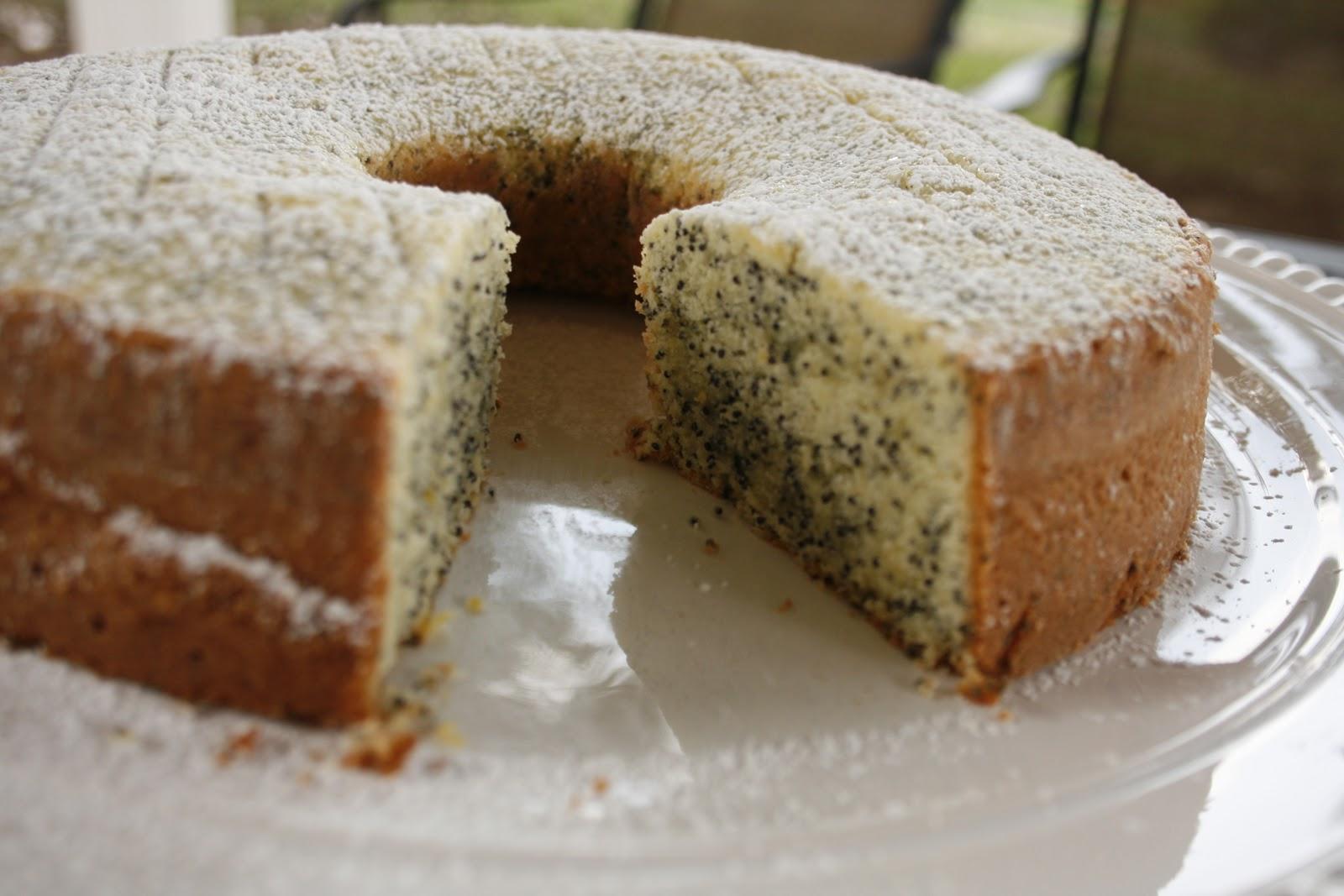 Laura's Sweet Spot: Poppy Seed Lemon Cake