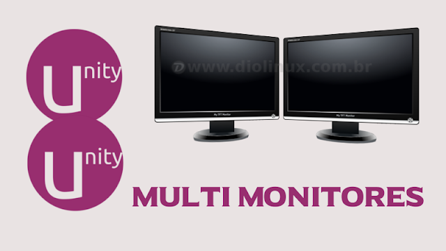Multi Monitores no Unity 8