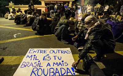 #protestoSP: 84% dos Manifestantes não têm partido político, segundo Datafolha