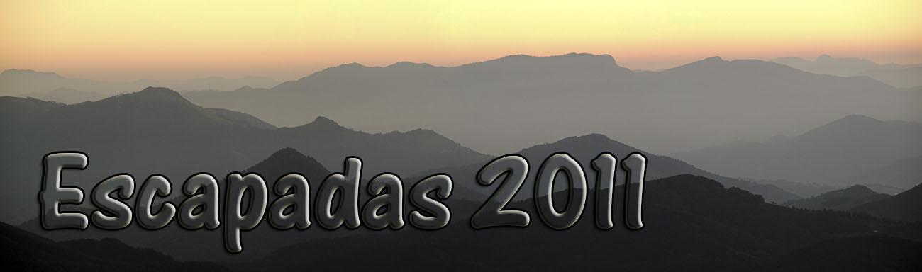 Escapadas 2011