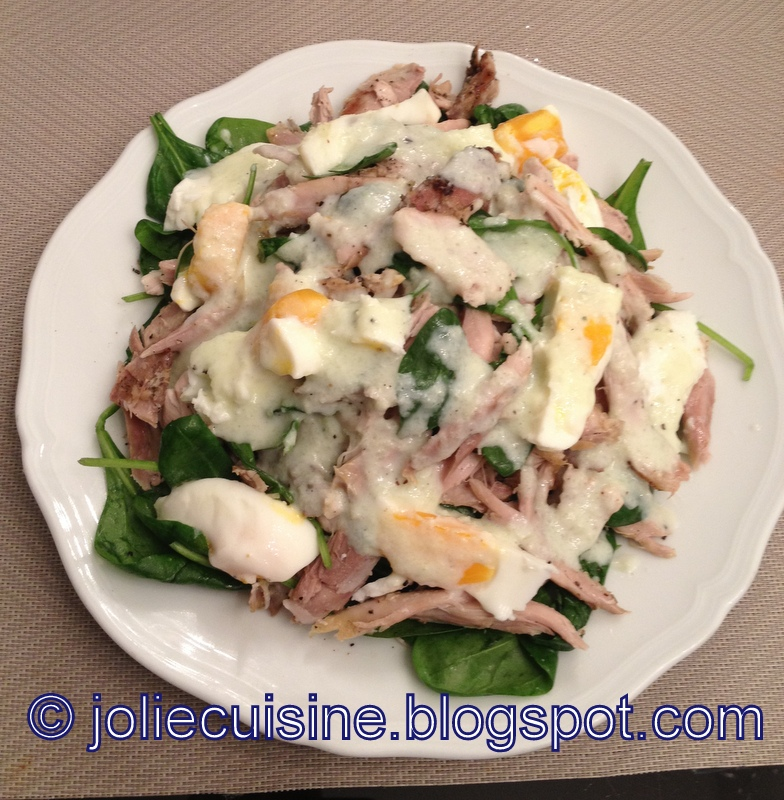 Jolie cuisine insalata di pollo dietetica - Jolie cuisine ...