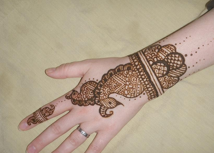 Mehndi Flower Designs For Hands : Funn99!!! funn4every1: beautiful mehndi flower designs hands latest