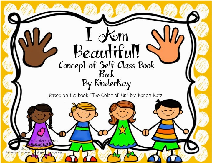 http://www.teacherspayteachers.com/Product/I-Am-Beautiful-Concept-of-Self-Class-Book-Pack-152768