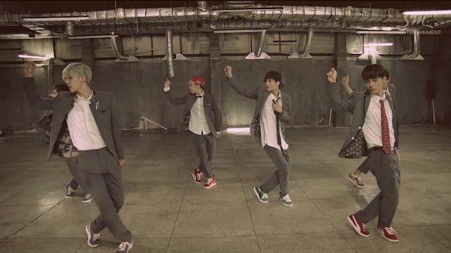 exo growl music video screencap 1